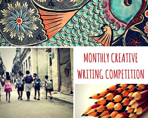 MONTHLY CREATIVE WRITING COMPETITION
