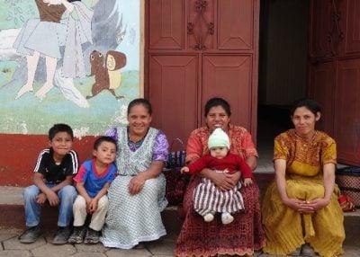 Local community in Guatemala