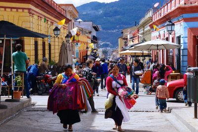 Street in San Cristóbal de Las Casas