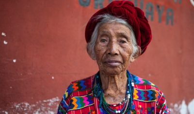 Mayan elderly woman