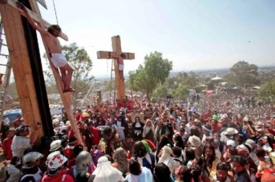 Easter Passion Play in Iztapalapa