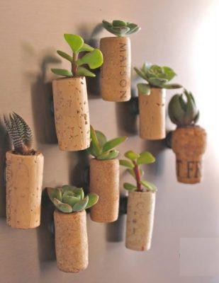 Upcycle wine bottle corks