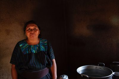 local Guatemalan woman