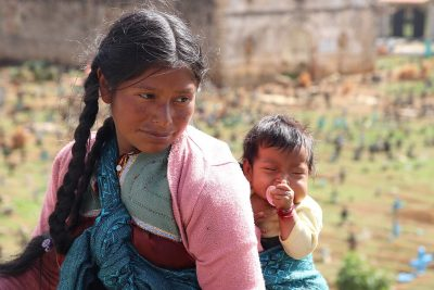 mother and child in Central America