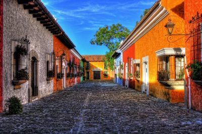 street in guatemala