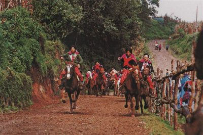 All Saints Day Horse Riding